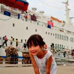 Angela319♥望道號初體驗♥大船書店來囉!