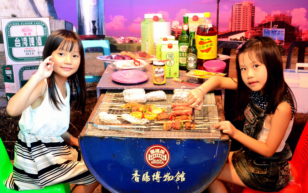 Angela♥觀光工廠玩樂大體驗:台南 南區 黑橋牌香腸博物館(香腸)