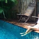 Angela319♥Taiwan國外親子遊第4個城市-泰國 清邁 住宿推薦:Green Tiger Vegetarian House