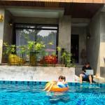 Angela319♥Taiwan國外親子遊第4個城市-泰國 清邁 住宿推薦:Villa Thapae