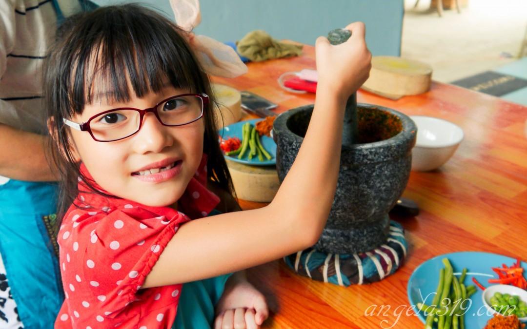 Angela319♥Taiwan國外親子遊第4個城市-泰國 清邁 學習泰式料理Mama Noi