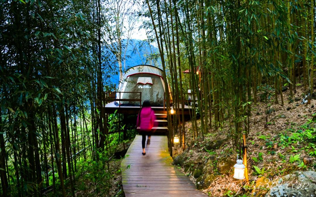 ♥瘋露營♥Angela的移動城堡:新竹尖石 6號花園